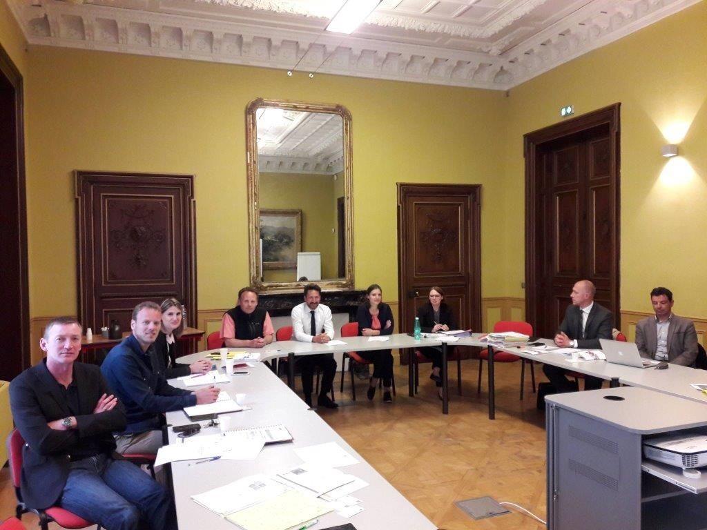 Maître ADJEDJ Didier pour le Cabinet AD CONSEIL présent à la première réunion du Comité PRO'PULSE le 14 mai 2018 à la CCI de VAUCLUSE